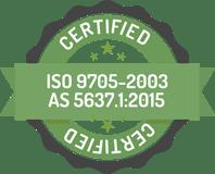 Fire safe green wall certification