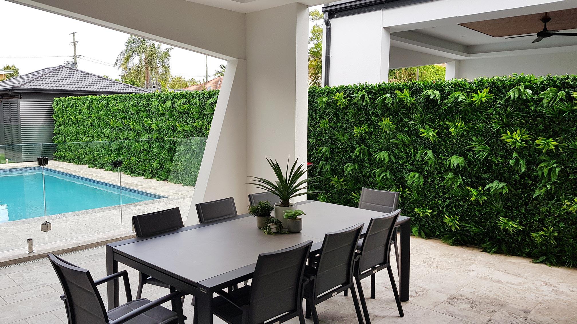 Evergreen Coastal Green Wall Installation