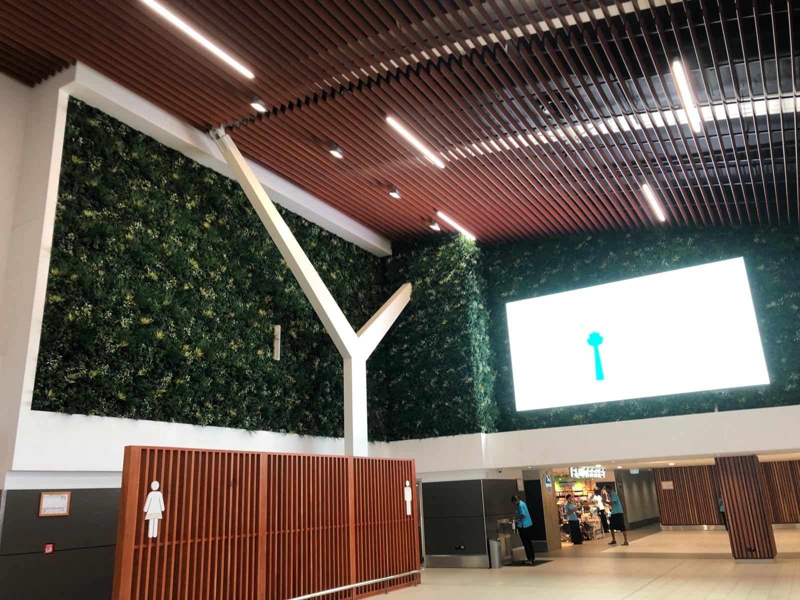 Indoor Swimming Pool Green Wall System