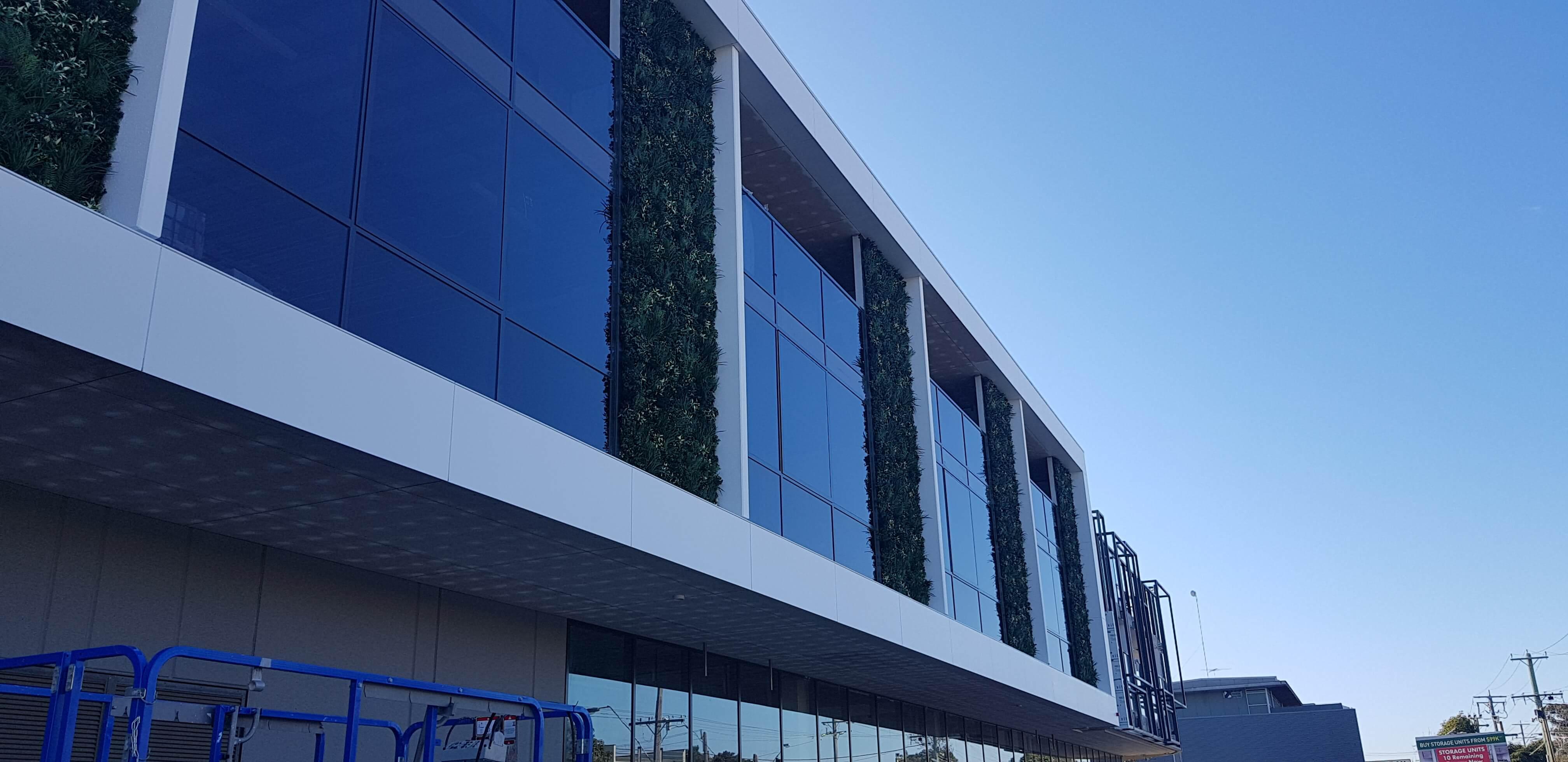 Commercial Green Wall Facade