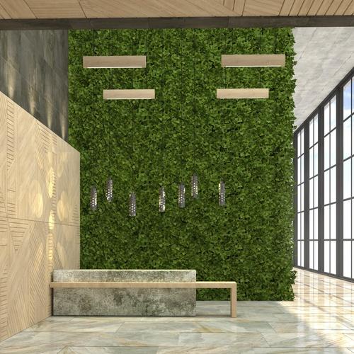 Evergreen Walls hanging wall garden