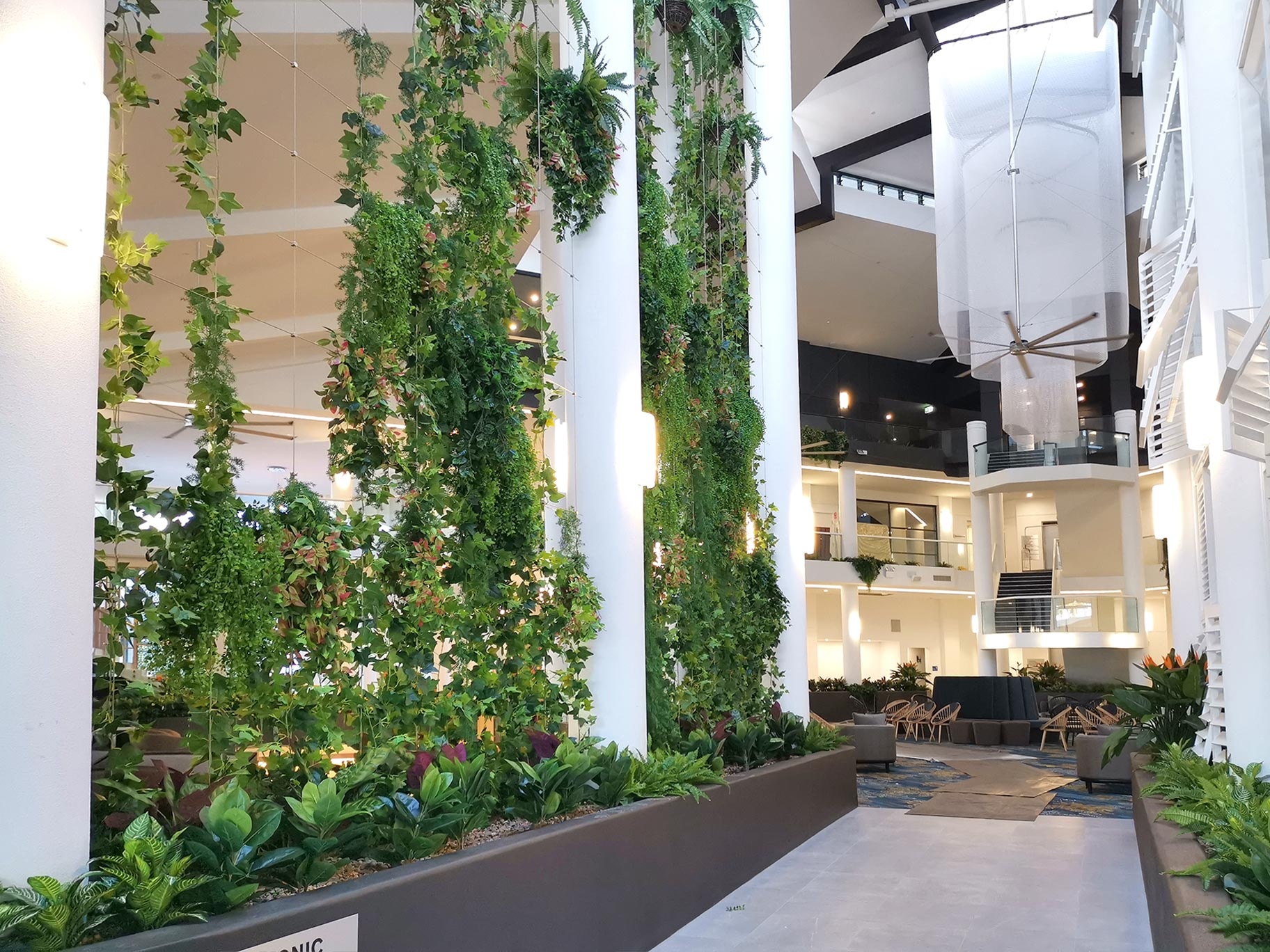 Pyrmont Office Tower Hanging Vines and Custom Hanging Baskets