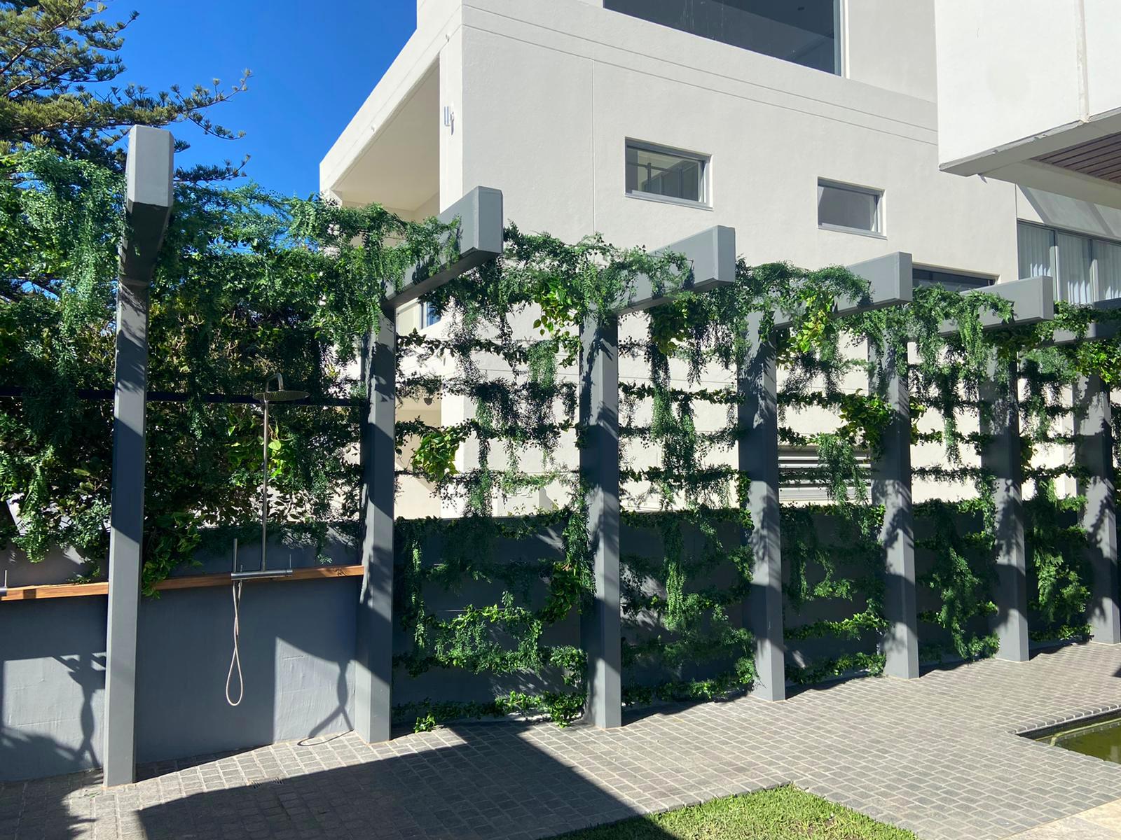 Vine Cable Wall Arrangement 02