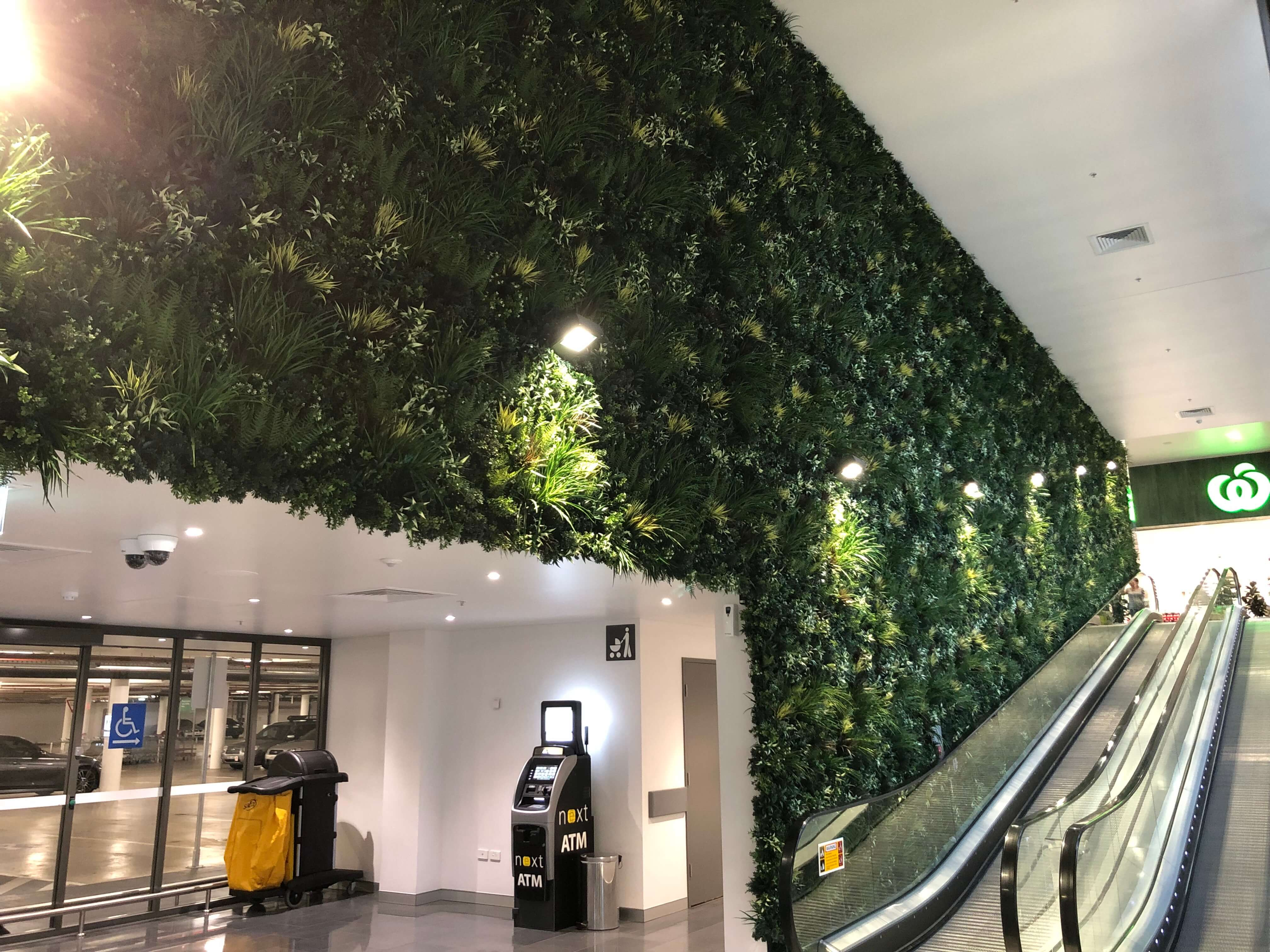 Commercial Shopping Centre Green Wall System