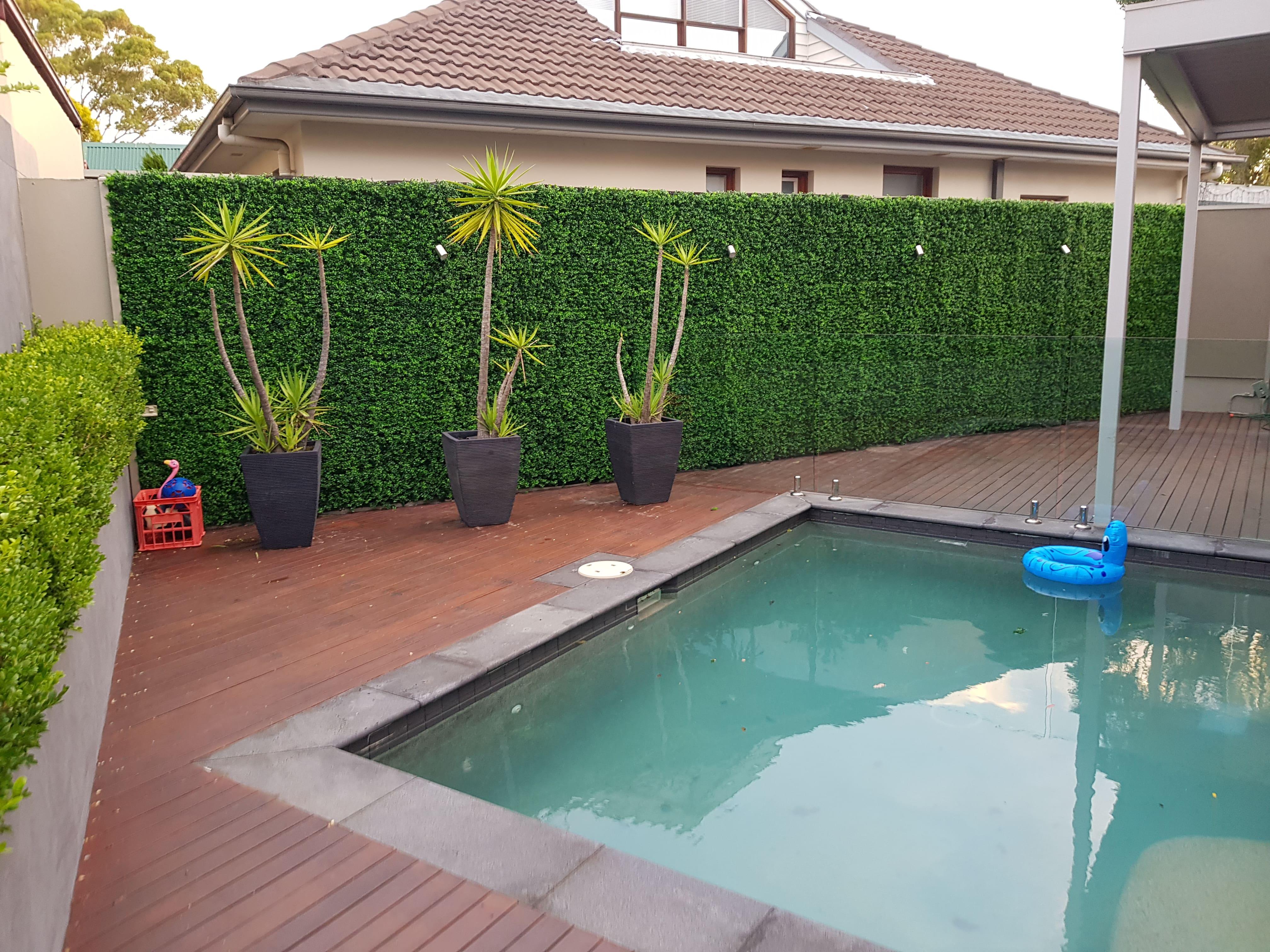 pool area greenery-min