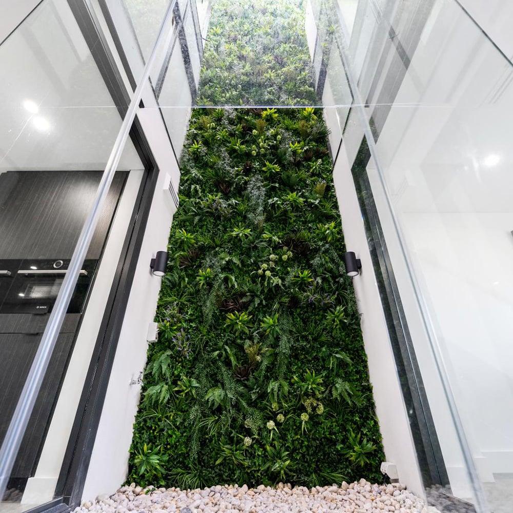vertical green wall garden -1